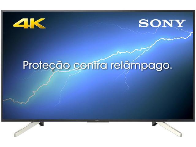 "Imagem de Smart TV 4K LED 49"" Sony KD-49X755F Android"