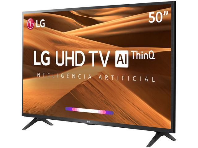 "Imagem de Smart TV 4K LED 50"" LG 50UM7360PSA Wi-Fi"