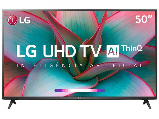 "Imagem de Smart TV 4K LED 50"" LG 50UN7310PSC Wi-Fi Bluetooth"