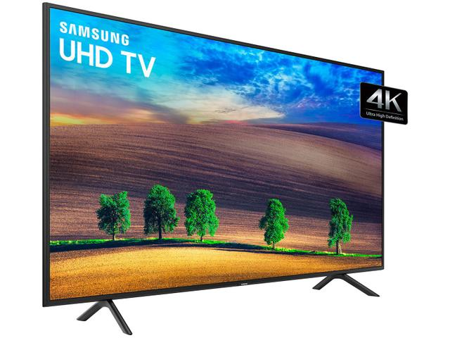 "bc5a5c3de Smart TV 4K LED 50"" Samsung NU7100 Wi-Fi - Conversor Digital 3 HDMI ..."
