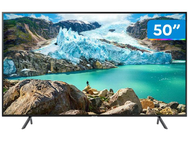"Imagem de Smart TV 4K LED 50"" Samsung UN50RU7100 Tizen"