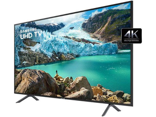 "Imagem de Smart TV 4K LED 50"" Samsung UN50RU7100 Wi-Fi"