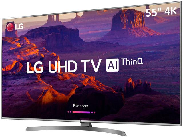 "Imagem de Smart TV 4K LED 55"" 55UK6540 Wi-Fi HDR"
