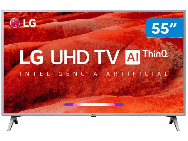 """Imagem de Smart TV 4K LED 55"""" LG 55UM7520PSB Wi-Fi HDR"""