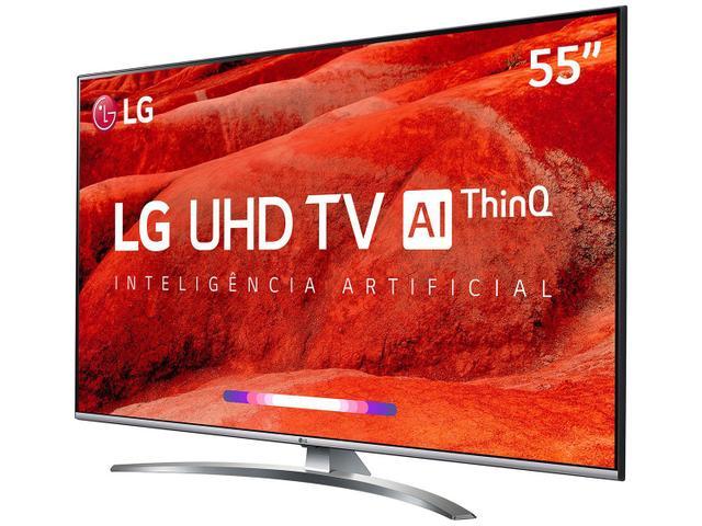 """Imagem de Smart TV 4K LED 55"""" LG 55UM7650PSB Wi-Fi HDR"""