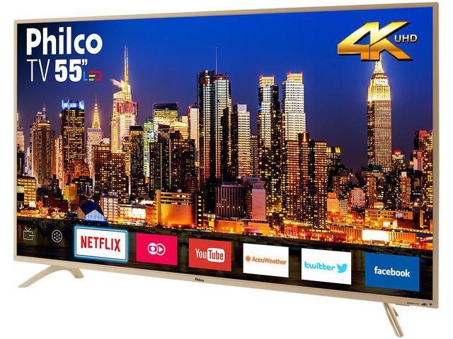 """Imagem de Smart TV 4K LED 55"""" Philco PTV55F61SNC"""
