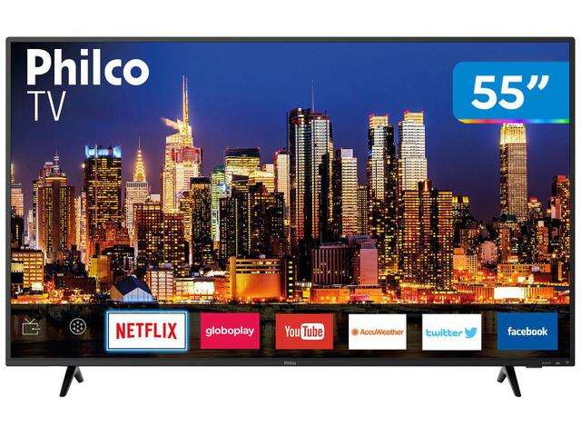 "Imagem de Smart TV 4K LED 55"" Philco PTV55F62SN Wi-Fi HDR"