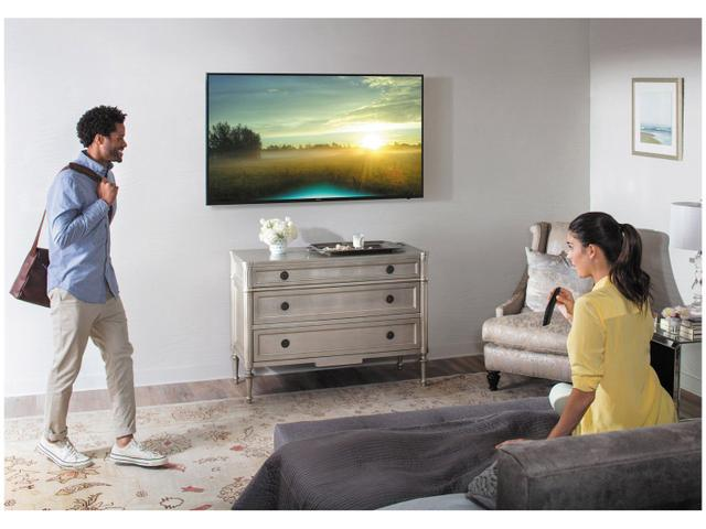 "Imagem de Smart TV 4K LED 55"" Samsung 55MU6100 Wi-Fi"