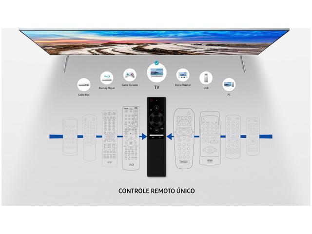 "Imagem de Smart TV 4K LED 55"" Samsung 55MU7000 Wi-Fi"