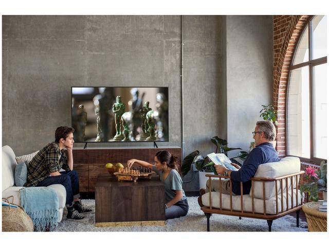 """Imagem de Smart TV 4K LED 55"""" Samsung NU7100 Wi-Fi HDR"""