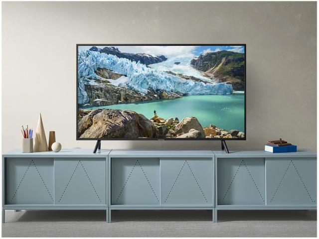 "Imagem de Smart TV 4K LED 55"" Samsung UN55RU7100GXZD"