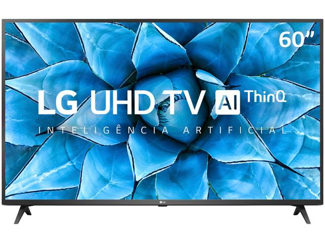 "Imagem de Smart TV 4K LED 60"" LG 60UN7310PSA Wi-Fi Bluetooth"
