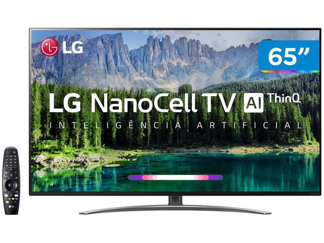 "Tv 65"" Nanocell LG 4k - Ultra Hd Smart - 65sm8600"