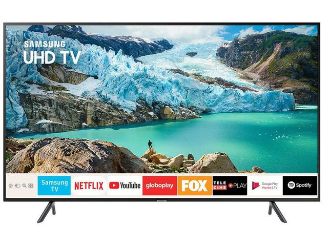 "Imagem de Smart TV 4K LED 65"" Samsung UN65RU7100 Wi-Fi"
