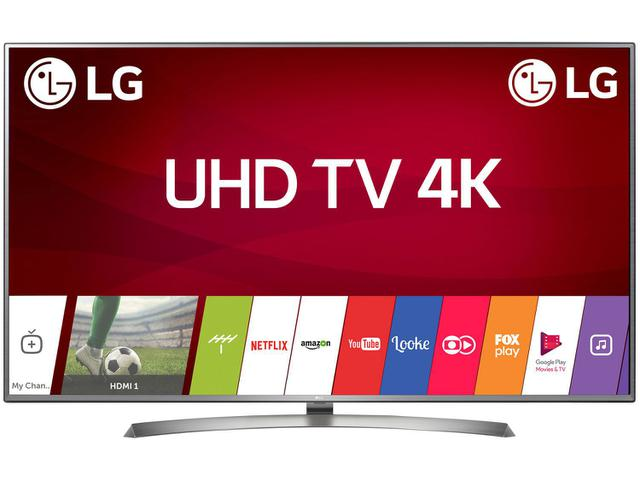 "Imagem de Smart TV 4K LED 70"" LG 70UJ6585 Wi-Fi HDR"