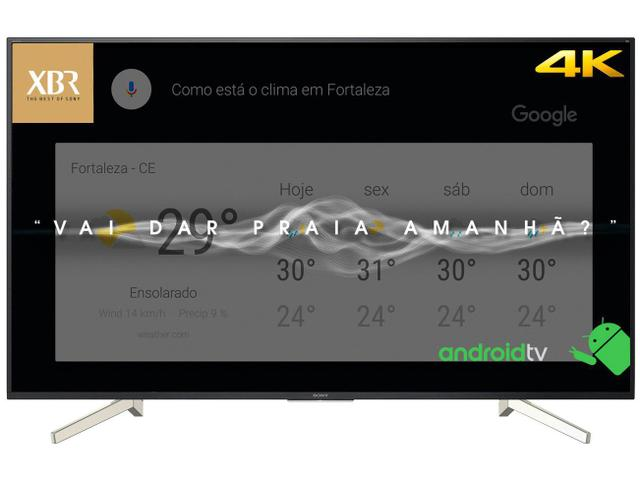"""Imagem de Smart TV 4K LED 70"""" Sony XBR-70X835F Android"""