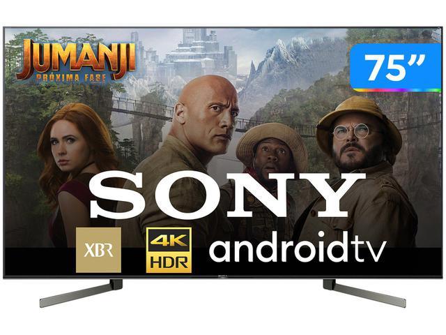 "Tv 75"" Led Sony 4k - Ultra Hd Smart - Xbr-75x955g"