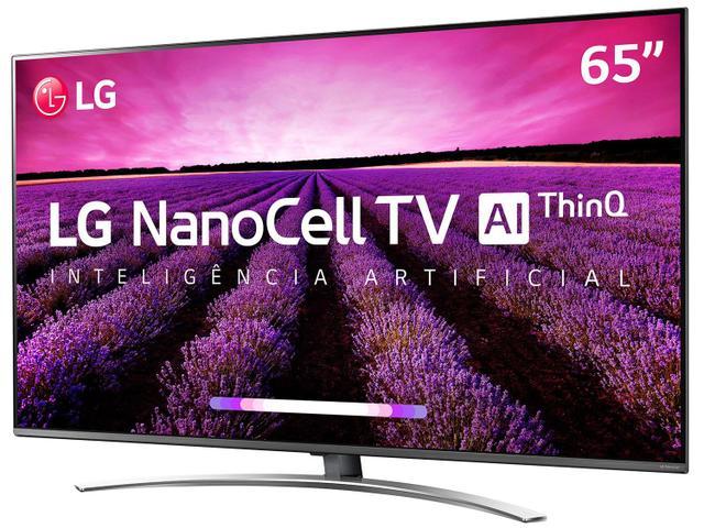 "Imagem de Smart TV 4K NanoCell 65"" LG 65SM8100PSA Wi-Fi"