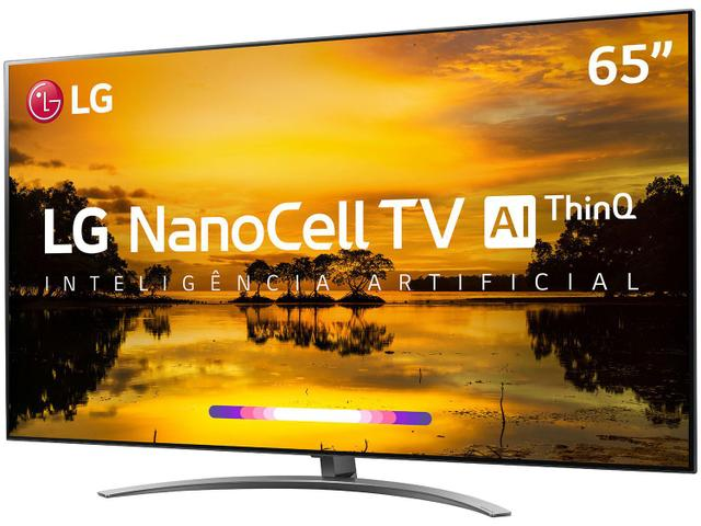 "Imagem de Smart TV 4K NanoCell 65"" LG 65SM9000PSA Wi-Fi"