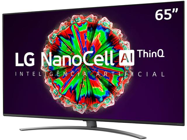 "Imagem de Smart TV 4K NanoCell IPS 65"" LG 65NANO81SNA"