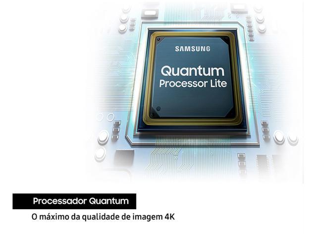 "Imagem de Smart TV 4K QLED 55"" Samsung Q60TA Wi-Fi Bluetooth"