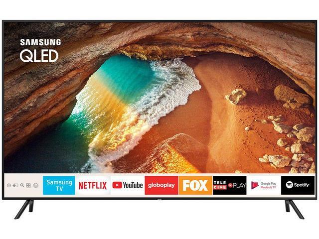"Imagem de Smart TV 4K QLED 55"" Samsung QN55Q60RAG Wi-Fi"