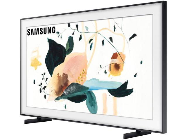 "Imagem de Smart TV 4K QLED 55"" Samsung The Frame Wi-Fi"