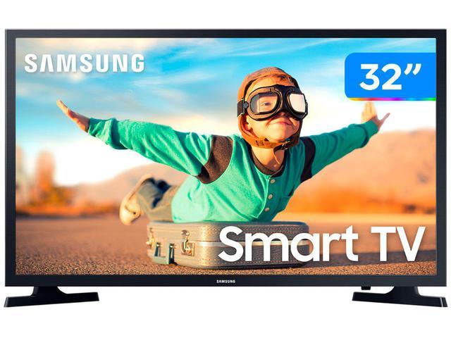 "Imagem de Smart TV 4K QLED 55"" Samsung The Frame Wi-Fi"