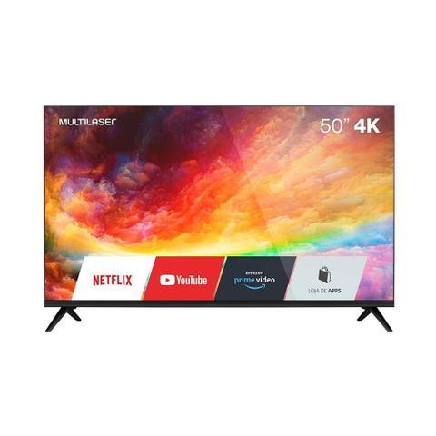 Imagem de Smart Tv 4k Tl032 50 Polegadas Com Wifi Bordas Ultrafinas Multilaser Liberatti