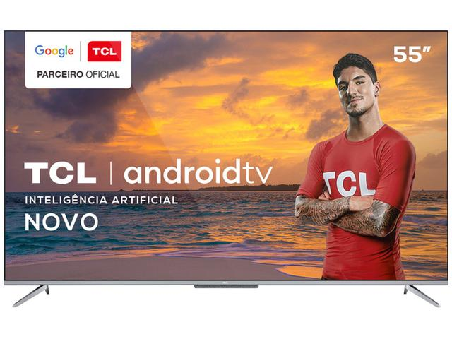 """Imagem de Smart TV 4K UHD LED 55"""" TCL 55P715 Android Wi-Fi"""