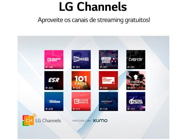 "Imagem de Smart TV 4K UHD NanoCell IPS 55"" LG 55NANO79SND"