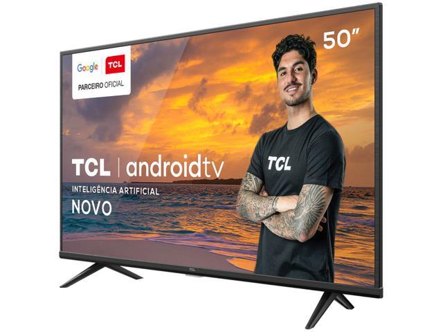 "Imagem de Smart TV 50"" UHD 4K LED TCL 50P615 VA 60Hz"