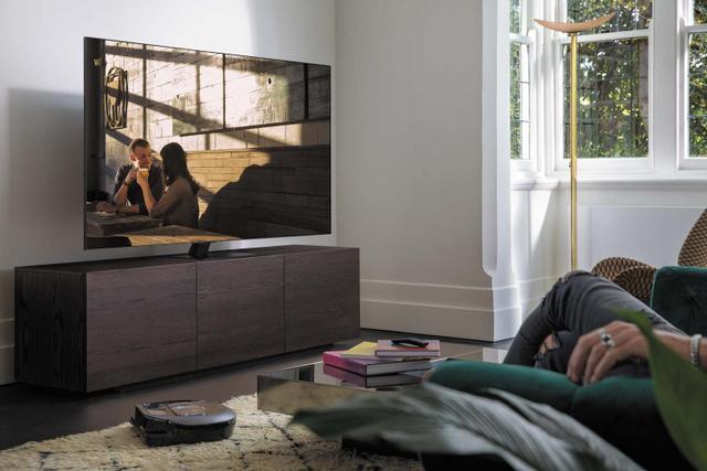 """Imagem de Smart TV 65"""" 4K QLED Samsung 65Q80A Wi-Fi"""
