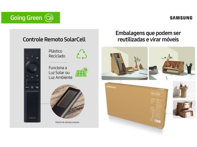 "Imagem de Smart TV 75"" 8K NEO QLED Mini Led Samsung 75QN800A"