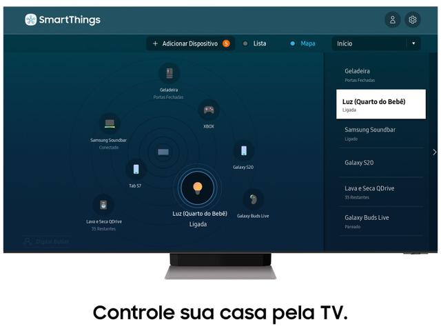"Imagem de Smart TV 75"" 8K NEO QLED Mini Led Samsung 75QN900A"