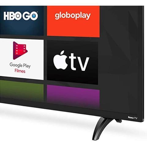 Imagem de Smart TV AOC 43 42S5195 78G Roku LED Full HD