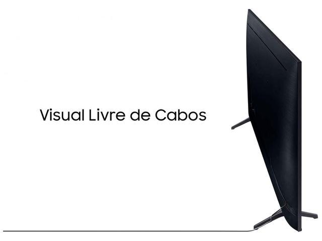 """Imagem de Smart TV Crystal UDH 4K LED 58"""" Samsung 58TU7020 Wi-Fi Bluetooth 2 HDMI 1 USB Visual Livre de Cabos"""