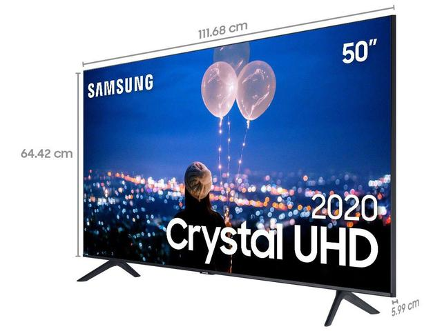 "Imagem de Smart TV Crystal UHD 4K LED 50"" Samsung"