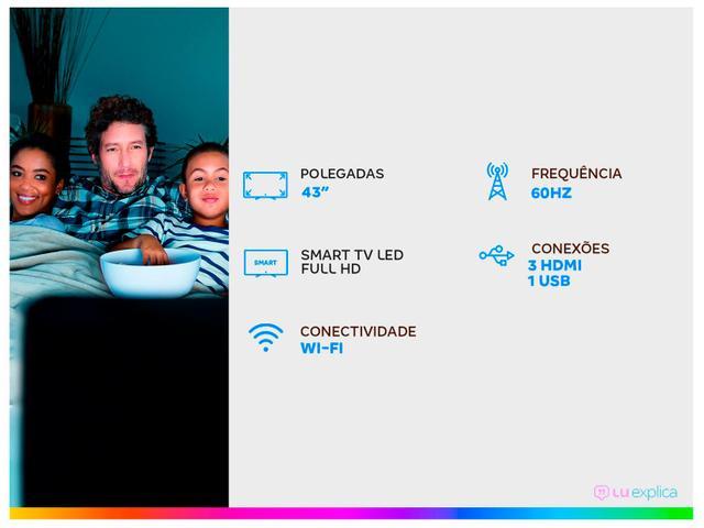 """Imagem de Smart TV Full HD LED 43"""" AOC 43S5195/78G"""