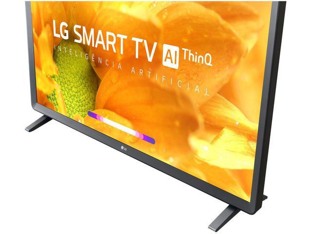 "Imagem de Smart TV HD LED 32"" LG 32LM625BPSB Wi-Fi Bluetooth - HDR Inteligência Artificial 3 HDMI 2 USB"