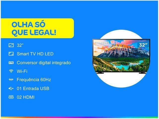 """Imagem de Smart TV HD LED 32"""" Samsung J4290"""