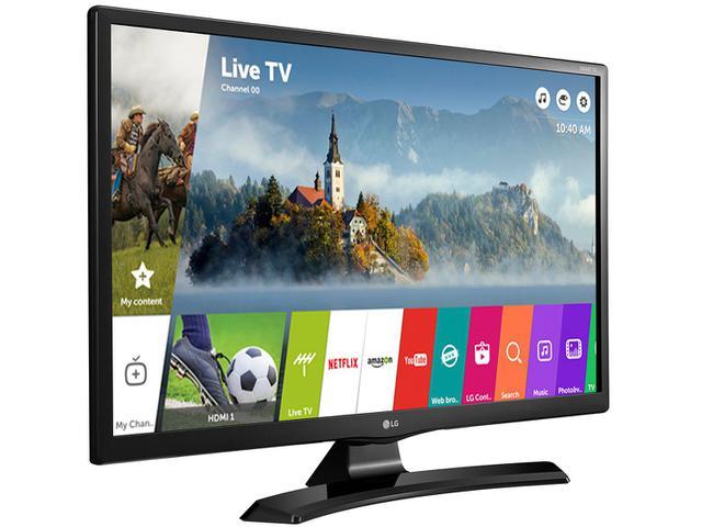 "Imagem de Smart TV LED 27,5"" LG 28MT49S-PS Wi-Fi"