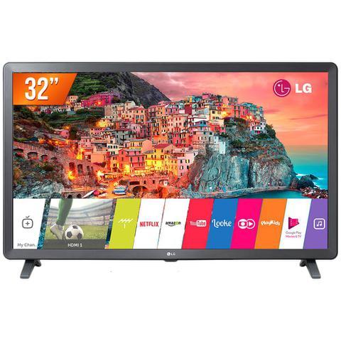 Imagem de Smart TV LED 32 HD LG 32LK615BPSB 2 HDMI 2 USB Wi-Fi e Conversor Digital Integrados