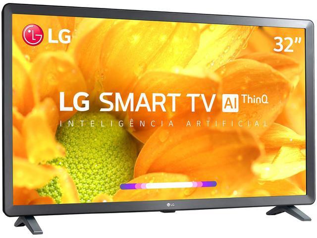 """Imagem de Smart TV LED 32"""" LG 32LM625BPSB ThinQ AI 3 HDMI 2 USB Wi-Fi Bluetooth"""