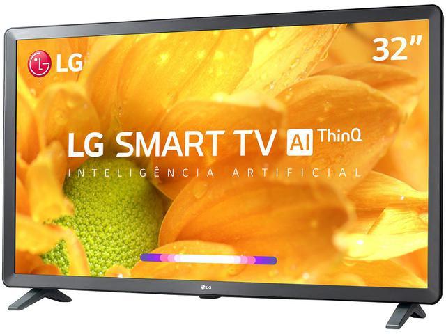 """Imagem de Smart TV LED 32"""" LG 32LM625BPSB Wi-Fi"""