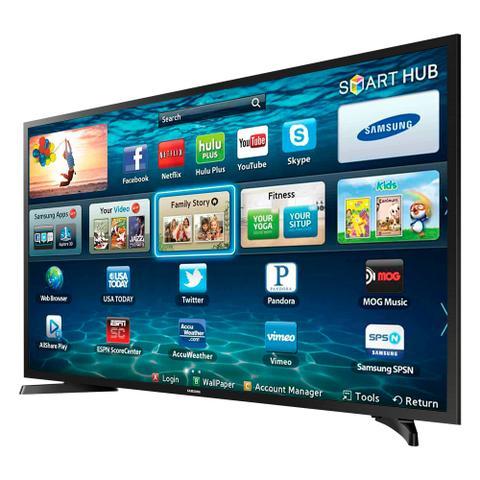 Imagem de Smart tv led 32 polegadas samsung lh32benelga 2 hdmi 1 usb