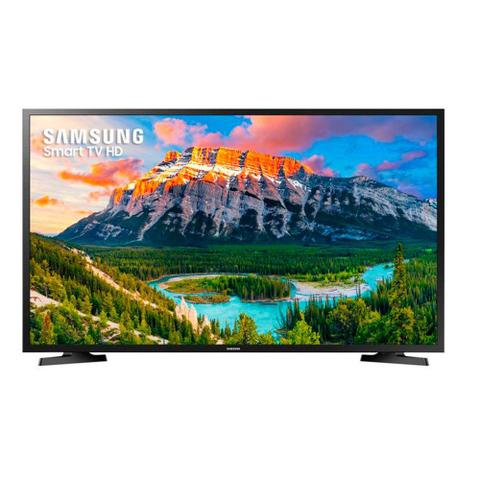 Imagem de Smart TV LED 32 Polegadas Samsung UN32J4290AGXZD HD Netflix 2 HDMI USB