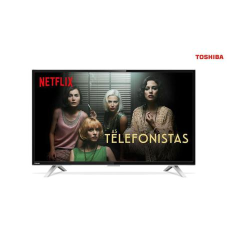 Imagem de Smart TV LED 32 Polegadas Semp Toshiba 32L2800 HD W-fi 2 USB 3 HDMI