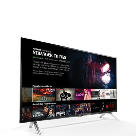 Imagem de Smart Tv Led 32 Polegadas Wifi Hd Usb Comando de Voz 32S5300 Semp