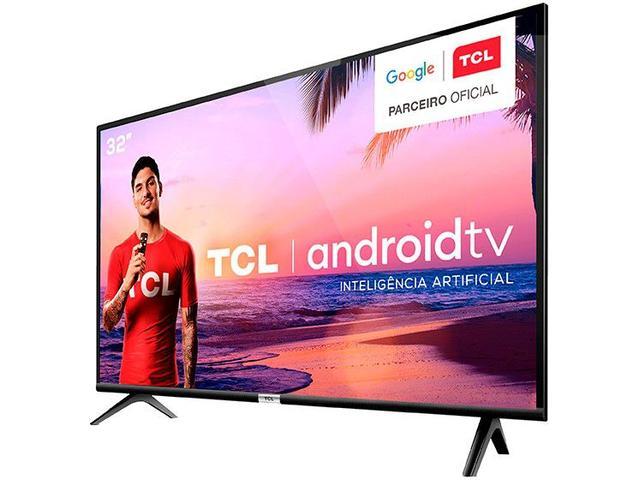 "Imagem de Smart TV LED 32"" TCL 32S6500 Android Wi-Fi"